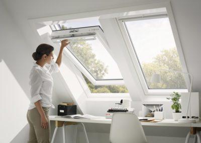 Fenster im Doppelpack<br>Wenn ein Fenster nicht reicht, können problemlos zwei VELUX Dachfenster direkt nebeneinander eingebaut werden.