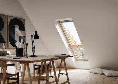 """Lichtband<br> Mit der Systemlösung """"Lichtband"""" schaffen Sie großzügige Fensterflächen für einen hellen, freundlichen Innenraum."""