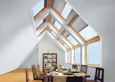 Geht nicht, gibts nicht <br>Mit VELUX-Dachfenstern können Sie lang gehegte Wohnträume Wirklichkeit werden lassen.