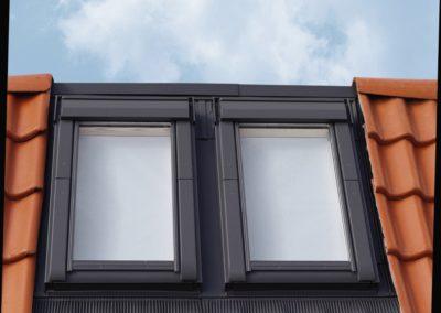 Ein Fenster für alle Positionen<br> Für jede Einbauposition hat VELUX das passende Fenster im Programm. Sogar ein Einbau direkt am First ist so möglich.