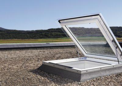 Flachdachfenster <br>Natürlich bekommen Sie auch Flachdachfenster von VELUX.