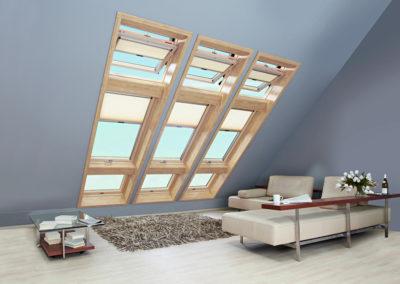 Licht ohne Grenzen <br>Dank modernster Verglasung mit hohem Dämmwert und wirksamem Hitzeschutz von innen und außen sind heute auch sehr große Fensterflächen im Dachgeschoss kein Problem mehr.